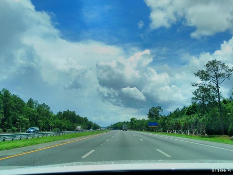 Дороги Флориды США