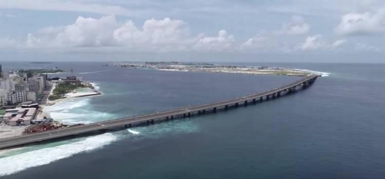мальдивы мост из мале на остров хулхумале