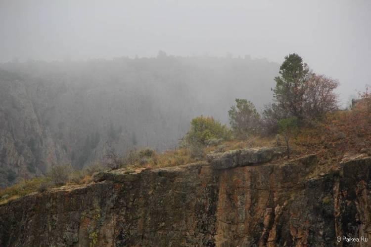 Черный каньон Ганнисона, Колорадо, США 17