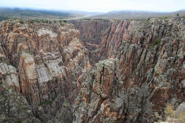 Черный каньон Ганнисона, Колорадо, США 25