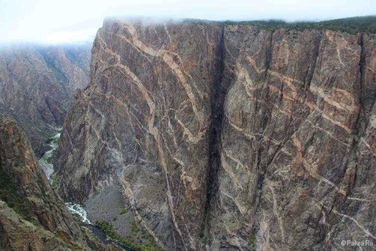 Черный каньон Ганнисона, Колорадо, США 26