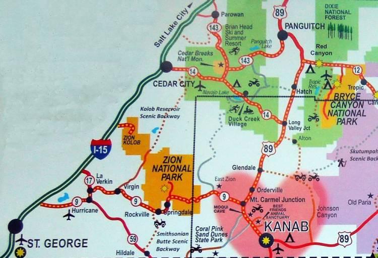 Сидар Брейкс на карте
