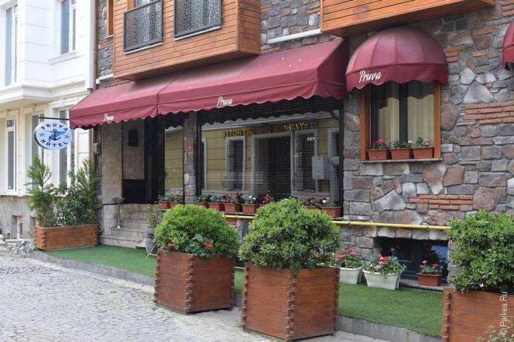порекомендуйте отели Стамбула