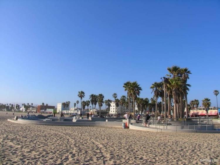 поездка в калифорнию что посмотреть пляж лос анджелес
