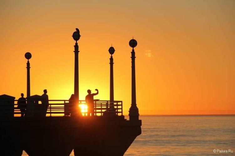 поездка в калифорнию где посмотреть закат
