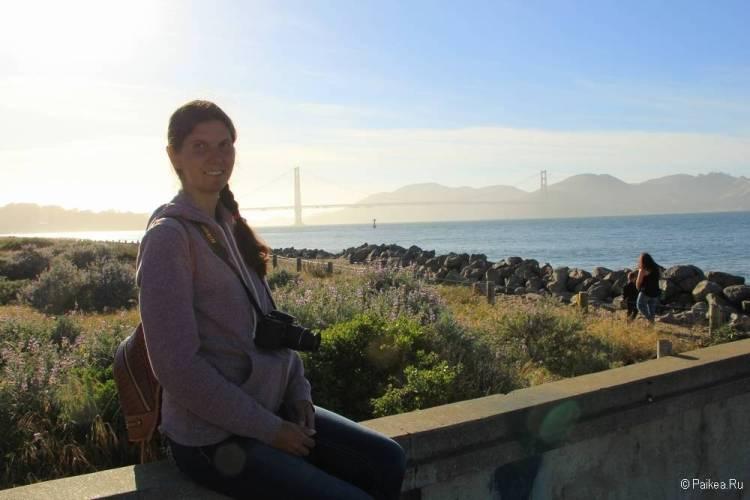 поездка в калифорнию мост золотые ворота