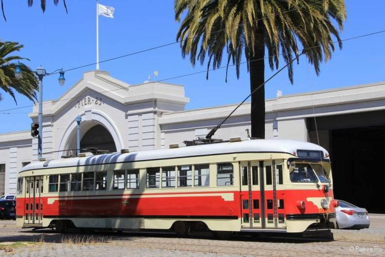 Достопримечательности Сан-Франциско трамвай