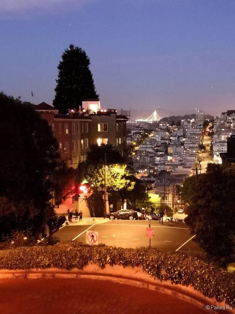 Достопримечательности Сан-Франциско улицы