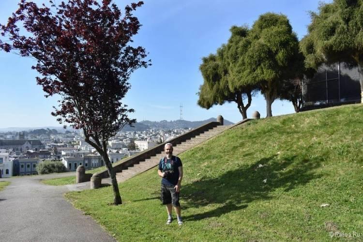 Достопримечательности Сан-Франциско парк Альтер Плаза