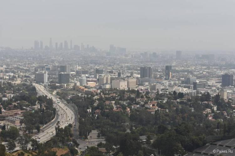 Смотровая площадка Голливуд Боул в Лос-Анджелесе 03