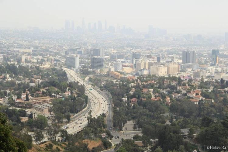Смотровая площадка Голливуд Боул в Лос-Анджелесе 18