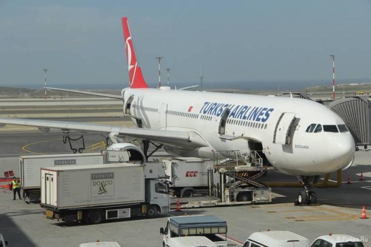 Новый аэропорт Стамбула туркиш эйрлайнс