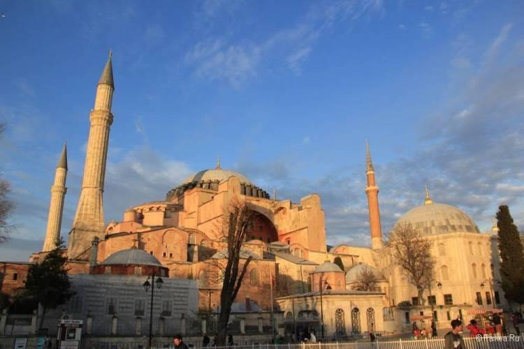 Поездка в Стамбул Айя София