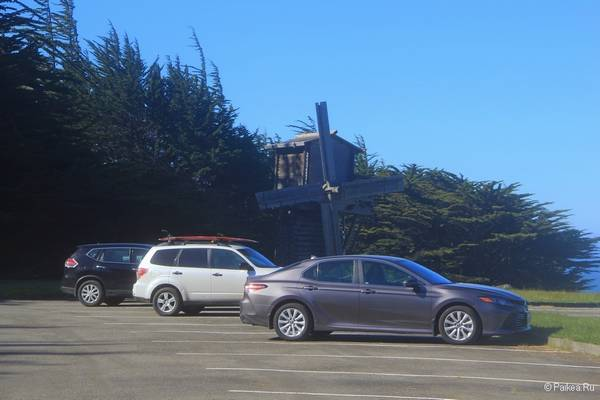 деревянная мельница форт росс калифорния