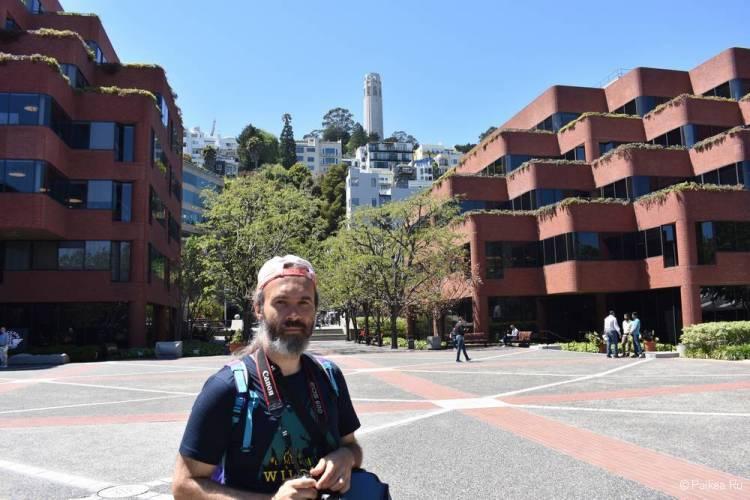 Улица со ступеньками Гринвич-Степс в Сан-Франциско 05