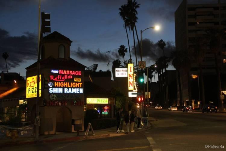 Хороший отель в Голливуде с бесплатной парковкой - Hollywood La Brea Inn, Лос-Анджелес 16