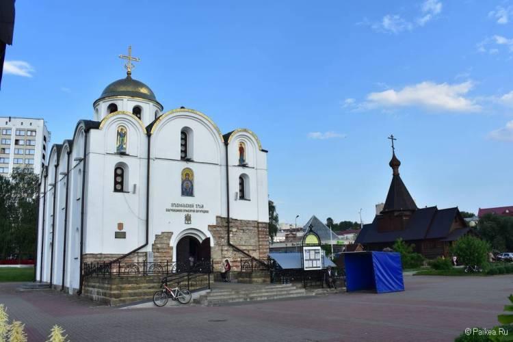 Поездка в Витебск - Благовещенская церковь