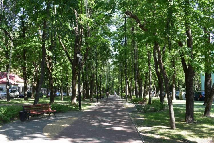 Сквер Богдана Хмельницкого в Витебске