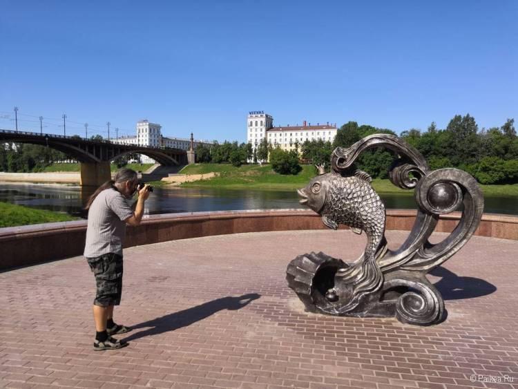 Памятник Золотой рыбке, Витебск
