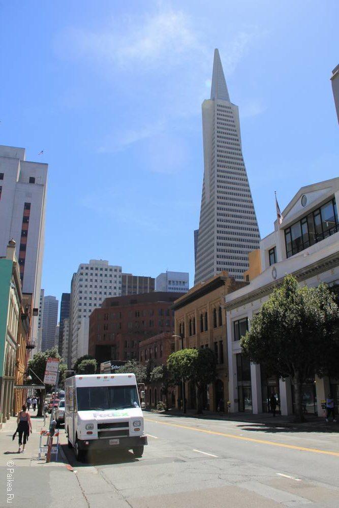 Пирамида Трансамерика - небоскреб в Сан-Франциско 15