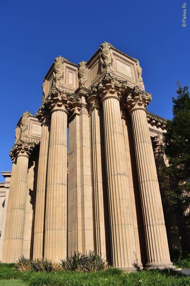 Дворец изящных искусств в Сан-Франциско 07