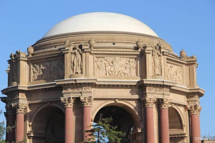 Дворец изящных искусств в Сан-Франциско 17