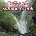 водопад салмон крик (salmon creek falls)