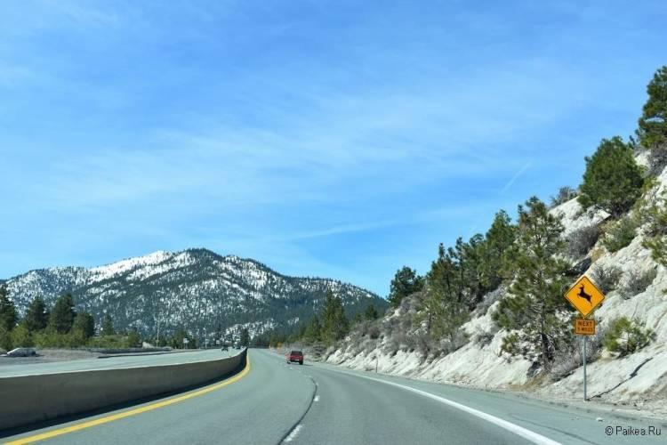 северная калифорния маршрут из сан-франциско 74