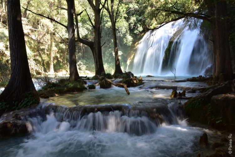 путешествие в мексику самостоятельно водопад эль чифлон 08
