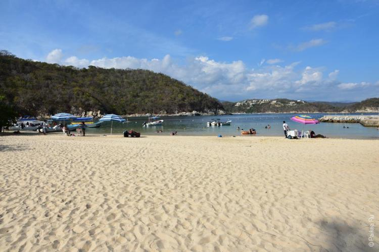 Пляж Энтрега