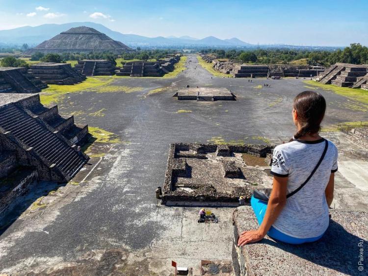 путешествие в мексику самостоятельно теотиуакан 17