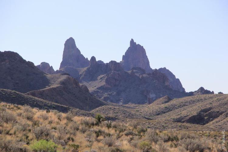 Биг Бенд (Big Bend) Burro Mesa