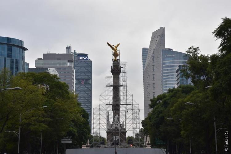 мехико ангел независимости
