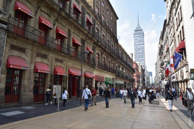 мехико улица мадеро