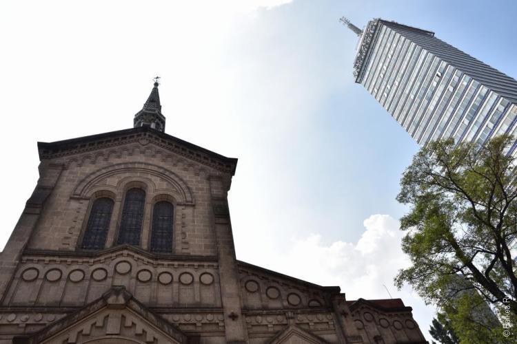 мехико башня латиноамерикана