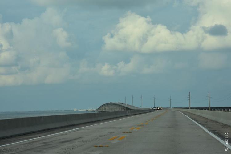 новый 7-мильный мост над каналом моузера