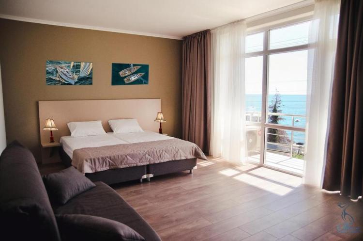 недорогие отели сочи с собственным пляжем