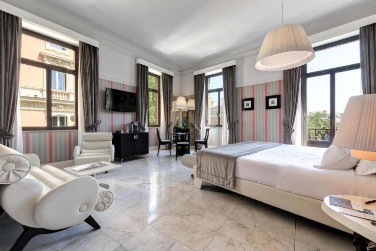 отели в риме grand palace 4