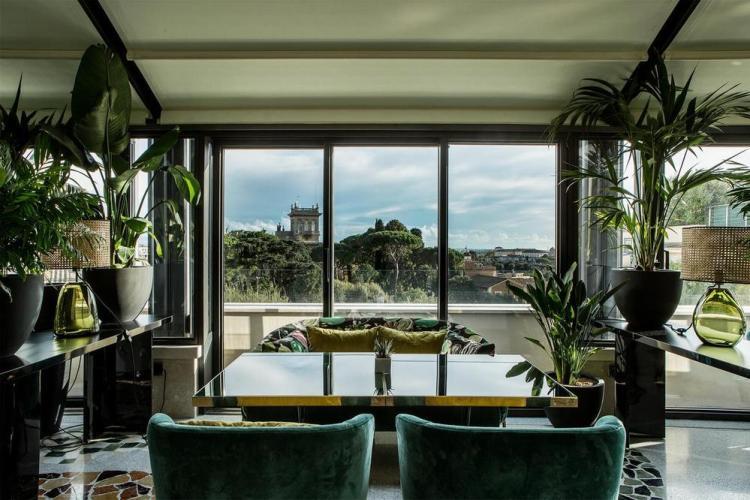 отели в риме villa borghese 5