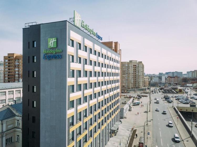где остановиться в москве / гостиница холидей инн экспресс шереметьево 3
