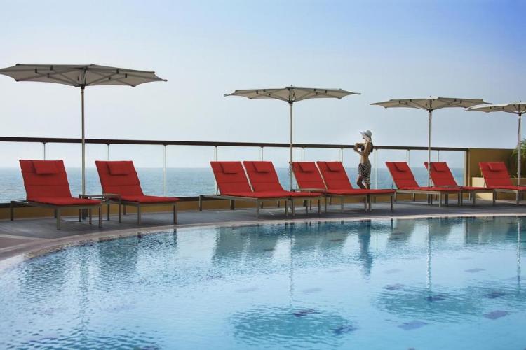 дубай отели 5 звезд amwaj rotana resort