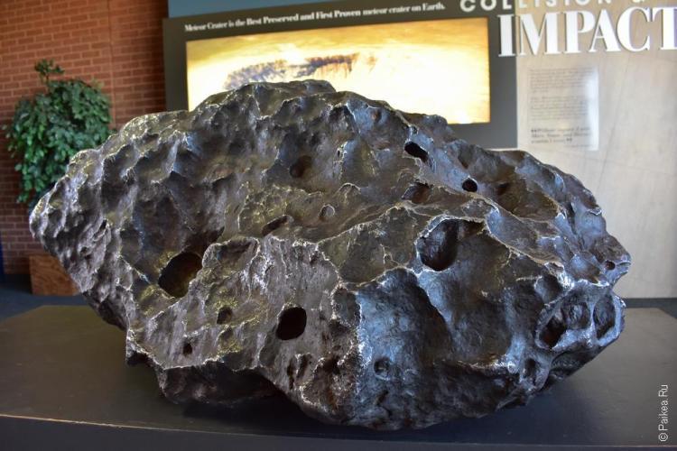 аризонский метеоритный кратер сша / meteor crater 10