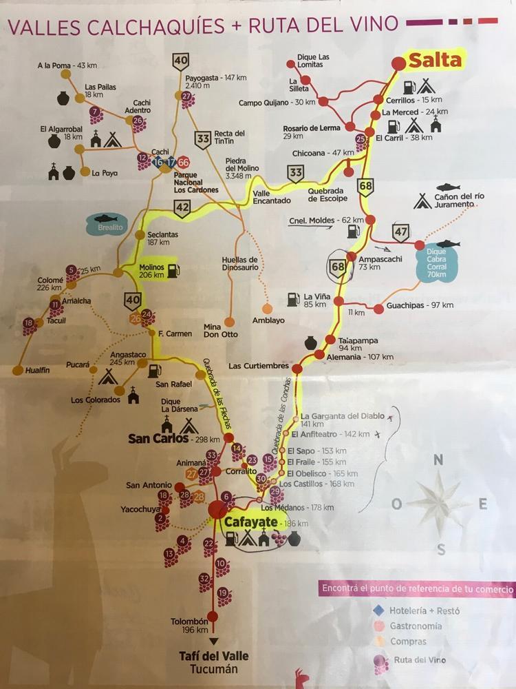 ruta del vino, аргентина