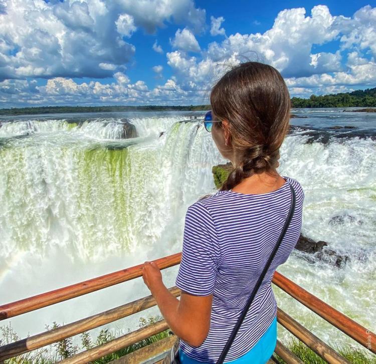 водопад игуасу глотка дьявола