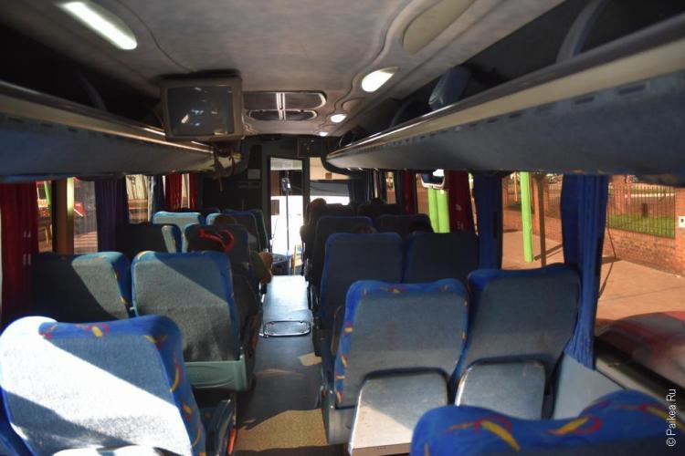 пуэрто игуасу автобус к водопадам