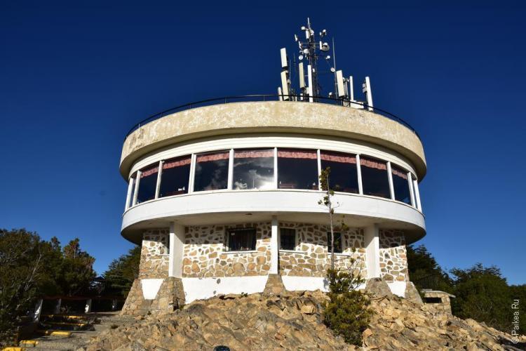 барилоче кафе на вершине горы