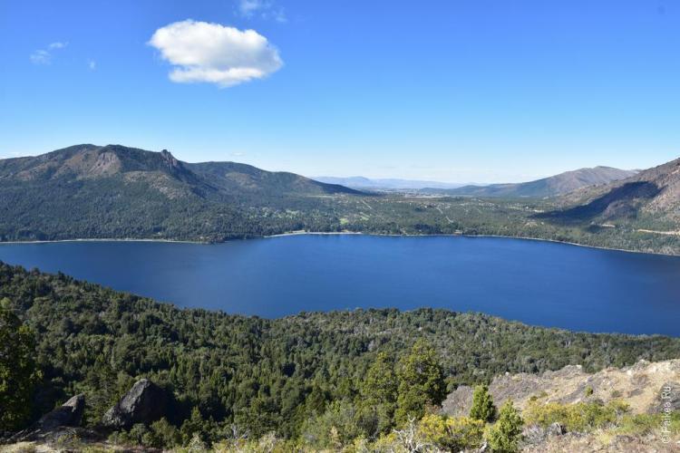 барилоче озеро гутиерес
