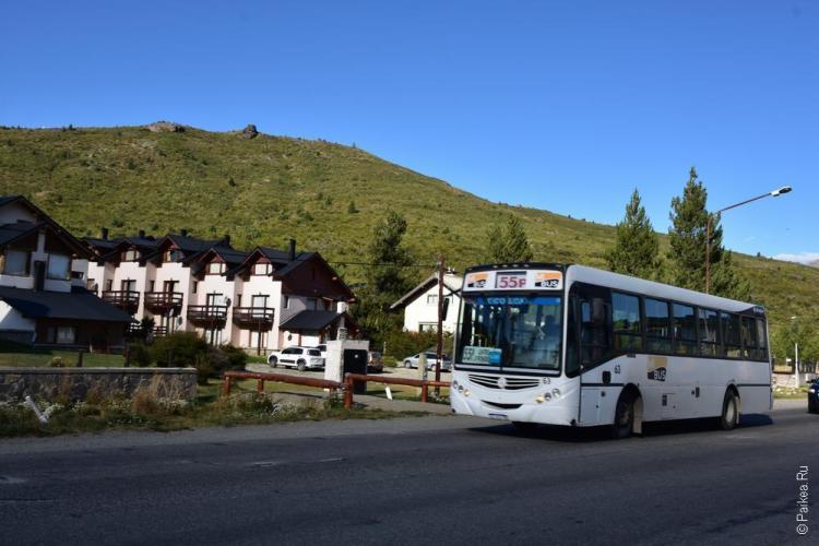 автобус барилоче - катедрал