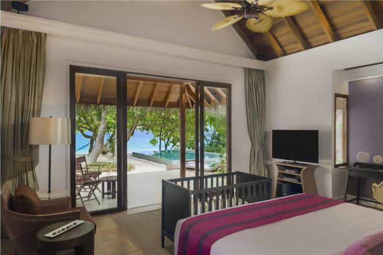 пляжные виллы Мальдив для отдыха с детьми 8