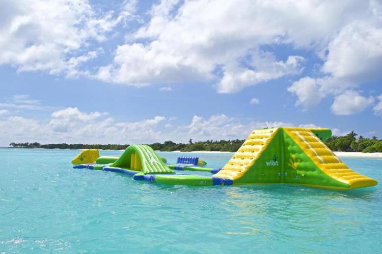 пляжные виллы Мальдив для отдыха с детьми 14
